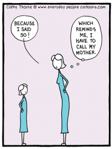 mother cartoon